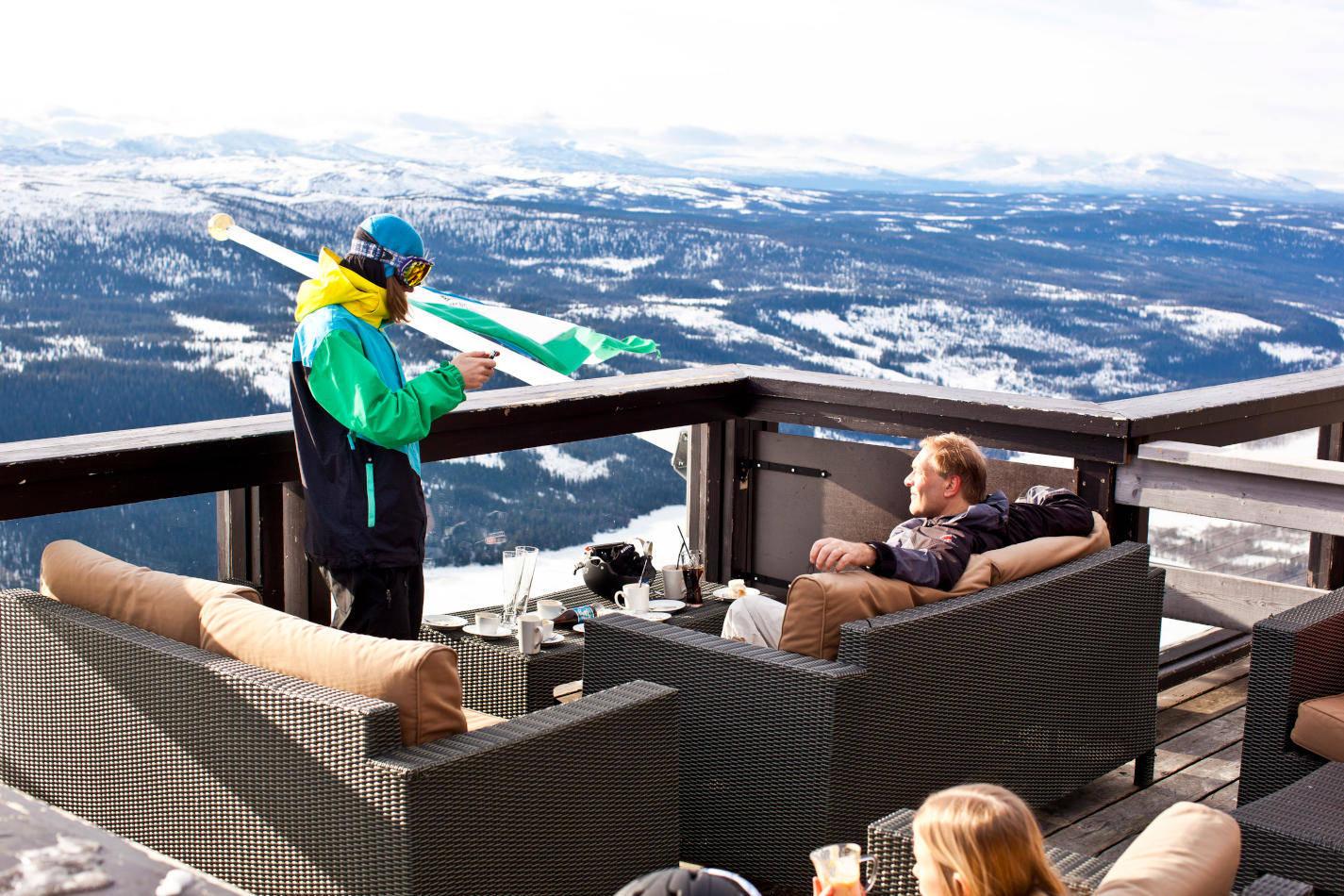 Destination Åre | A big city in an alpine village costume | Scan Magazine