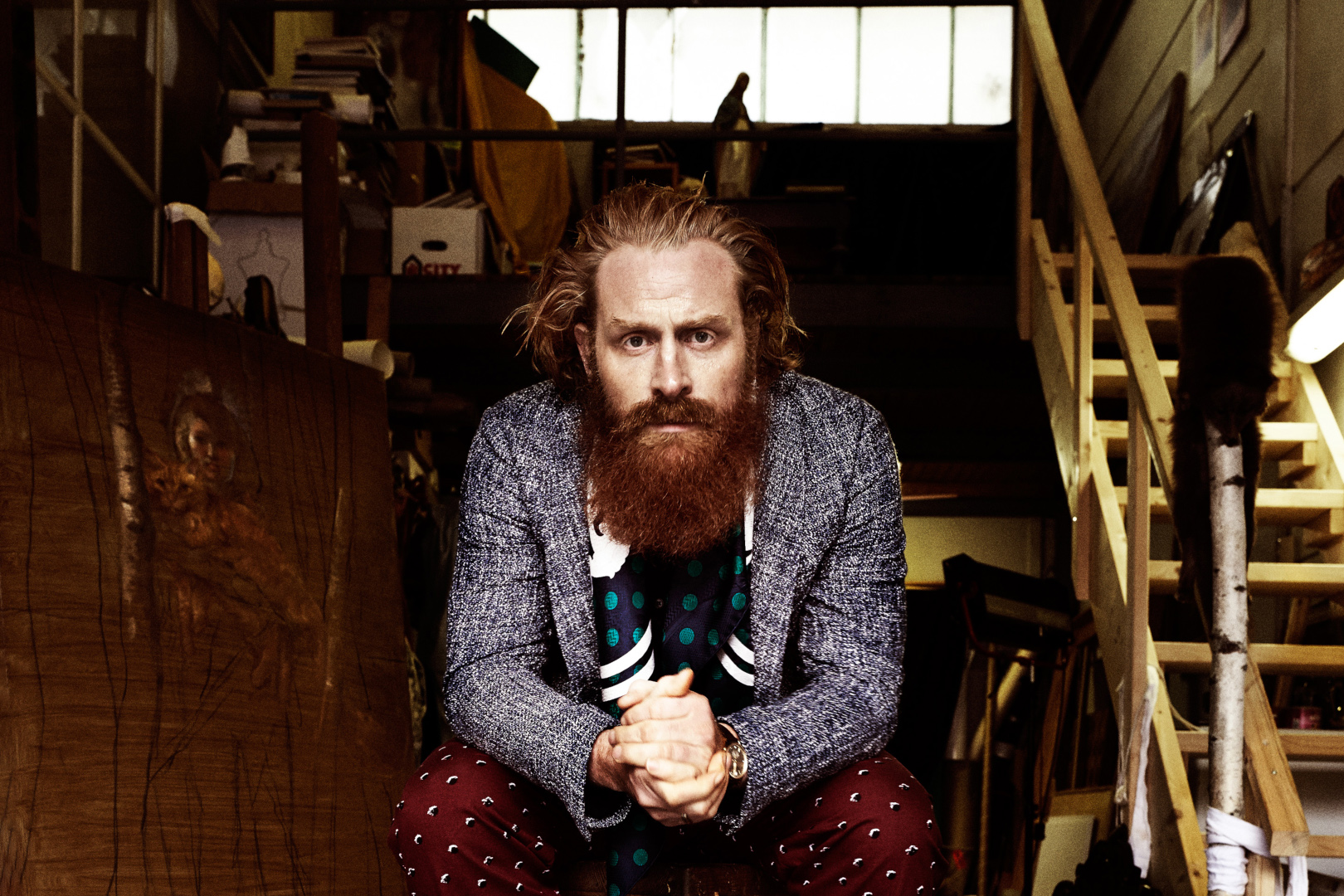 Kristofer Hivju From Norway To The Throne Scan Magazine