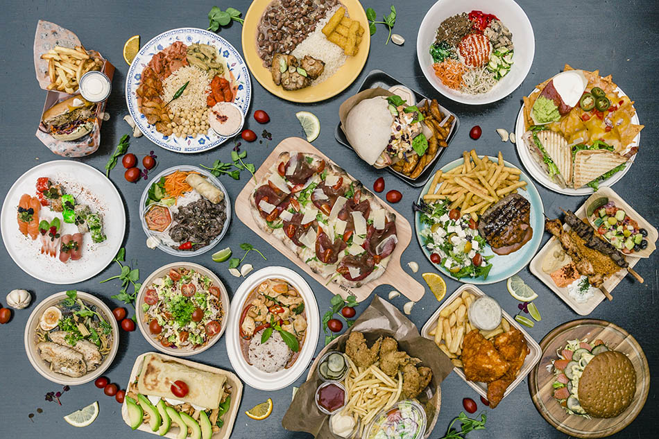 Arkaden Food Market_7_Dish from every stall_Arkaden Food Market