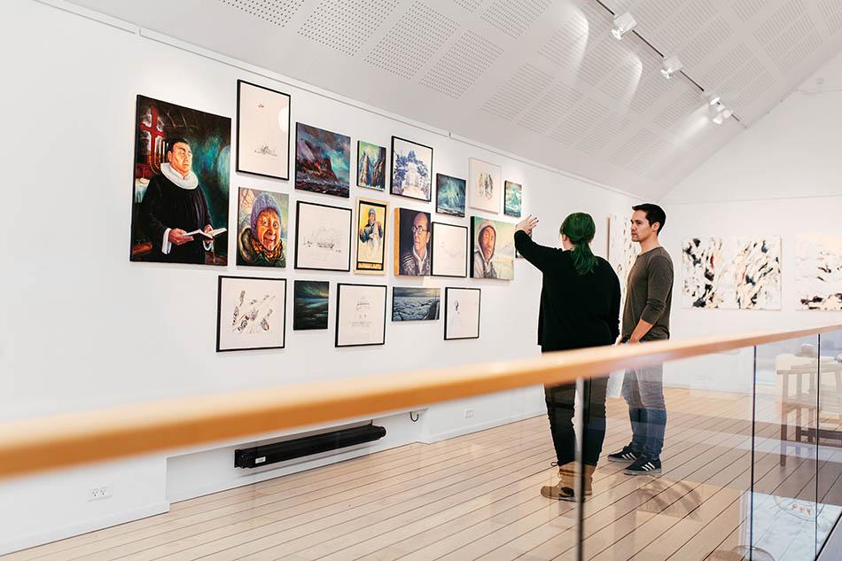 Nuuk Kunstmuseum, Scan Magazine