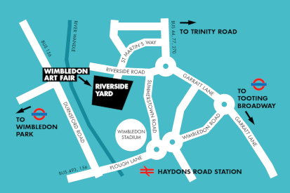 Directions to Wimbledon Art Studios