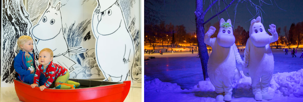 moomin museum-collage
