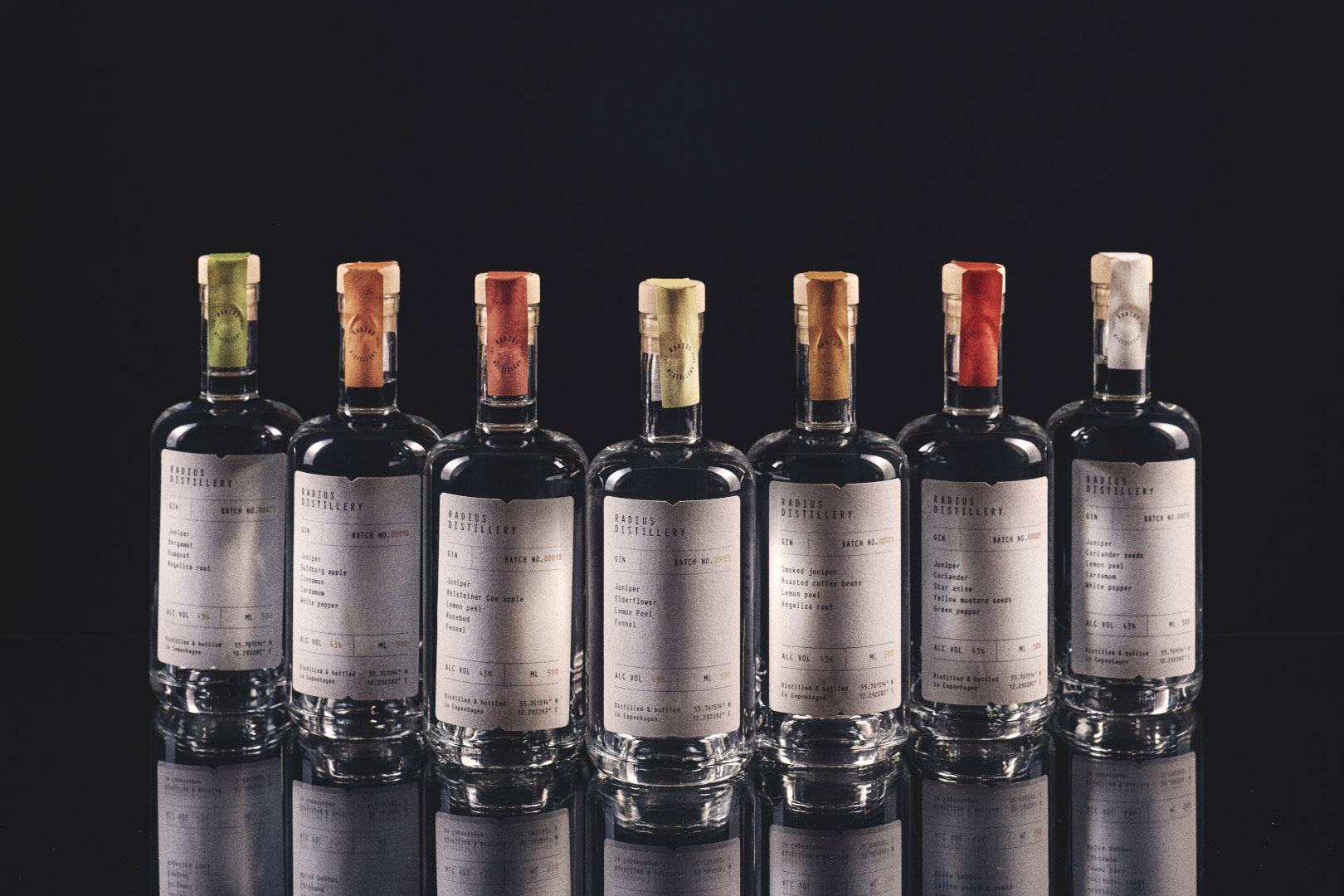 2_Radius Distillery_5_Gins_Radius Distillery