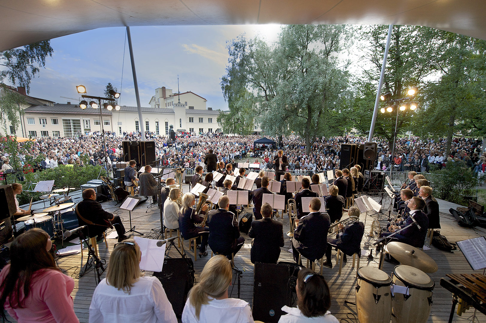 2_Visit Pietarsaari Seutu_2_Concert in the park_Image credit_ Nicklas Storbjörk