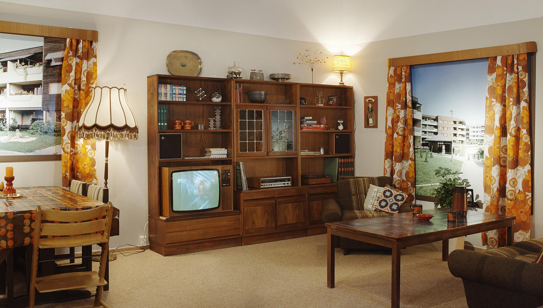 3_Museum of Oslo- A 70s living room-Rune Aakvik & Oslo Museum