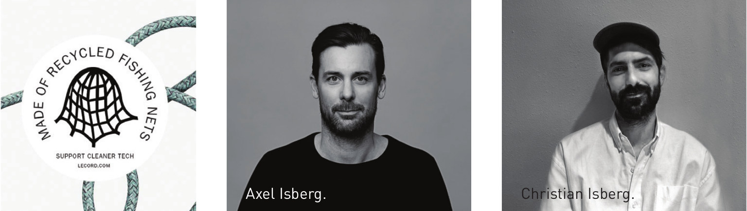 Axel Isberg Christian Isberg Le Cord Scan Magazine May 2019