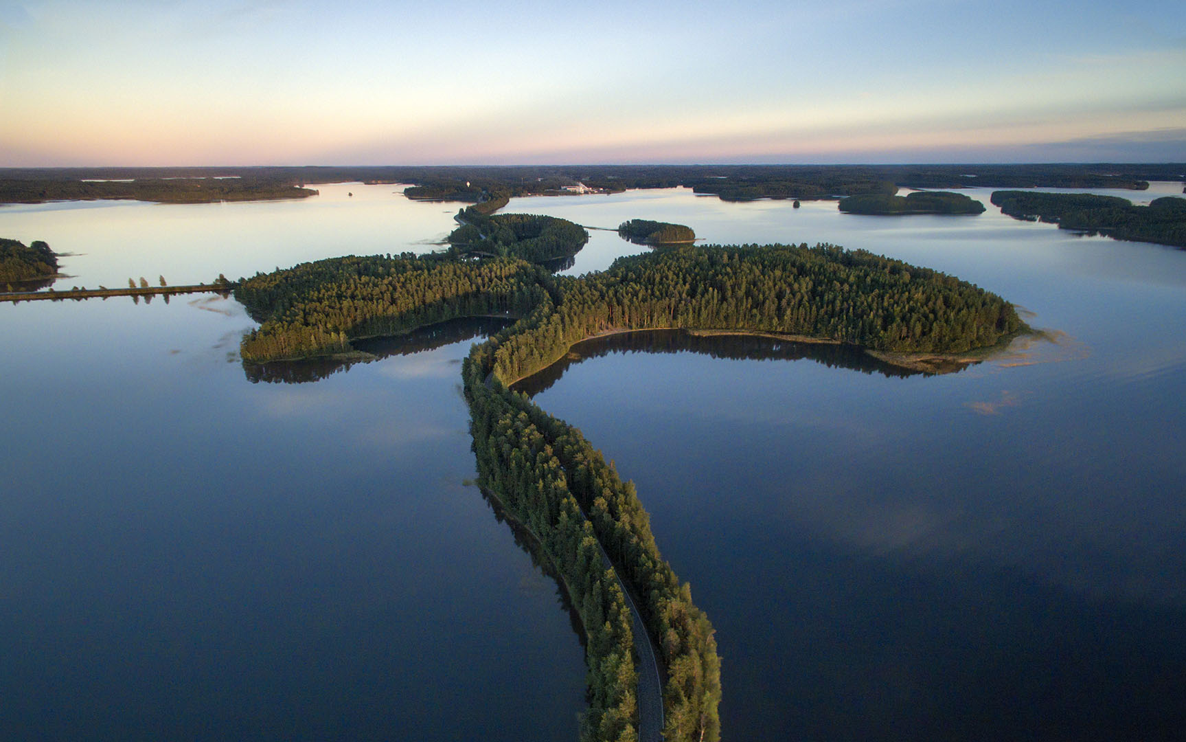 Punkaharju, one of the most beautiful spots in Finland. Photo: Jussi Silvennoinen