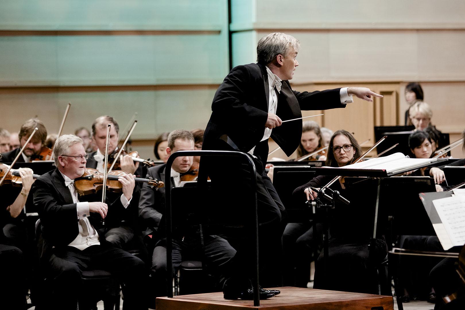 Bergen Philharmonic Orchestra Jubileumsgalla Bergen 20151008: Bergen Filharmoniske Orkester markerte 250-årsjubileumet med gallakonsert i Grieghallen. FOTO: PAUL S. AMUNDSEN