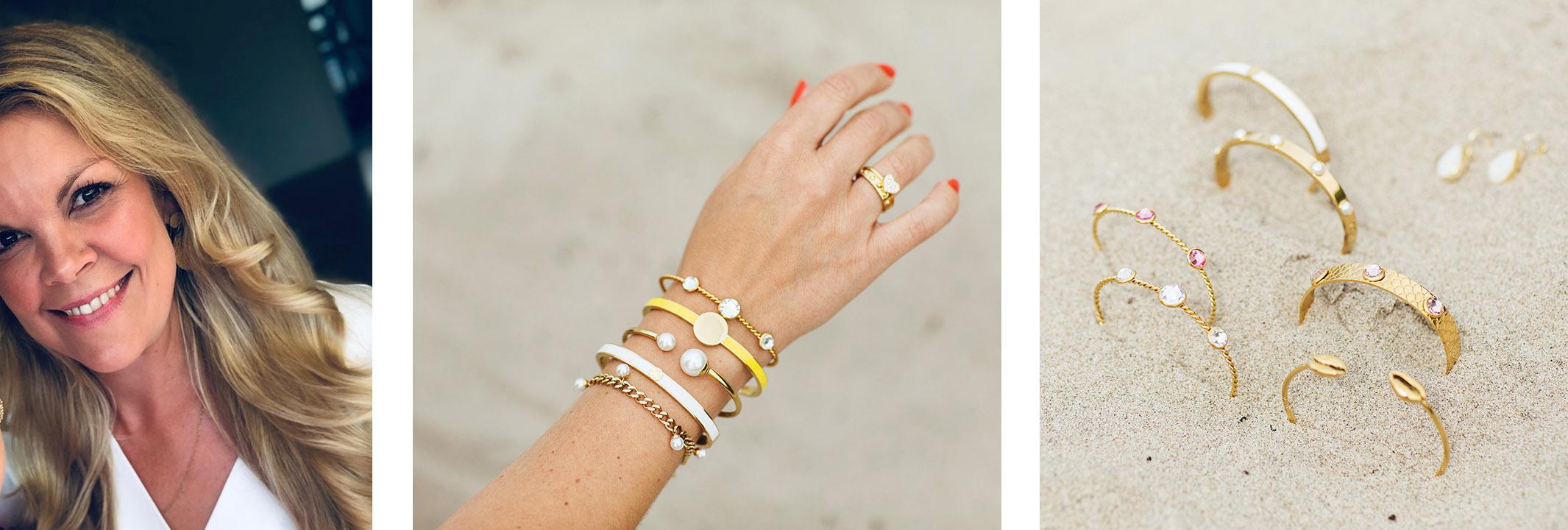 ByJolima founder Josefine Nilsson and jewellery Scan Magazine