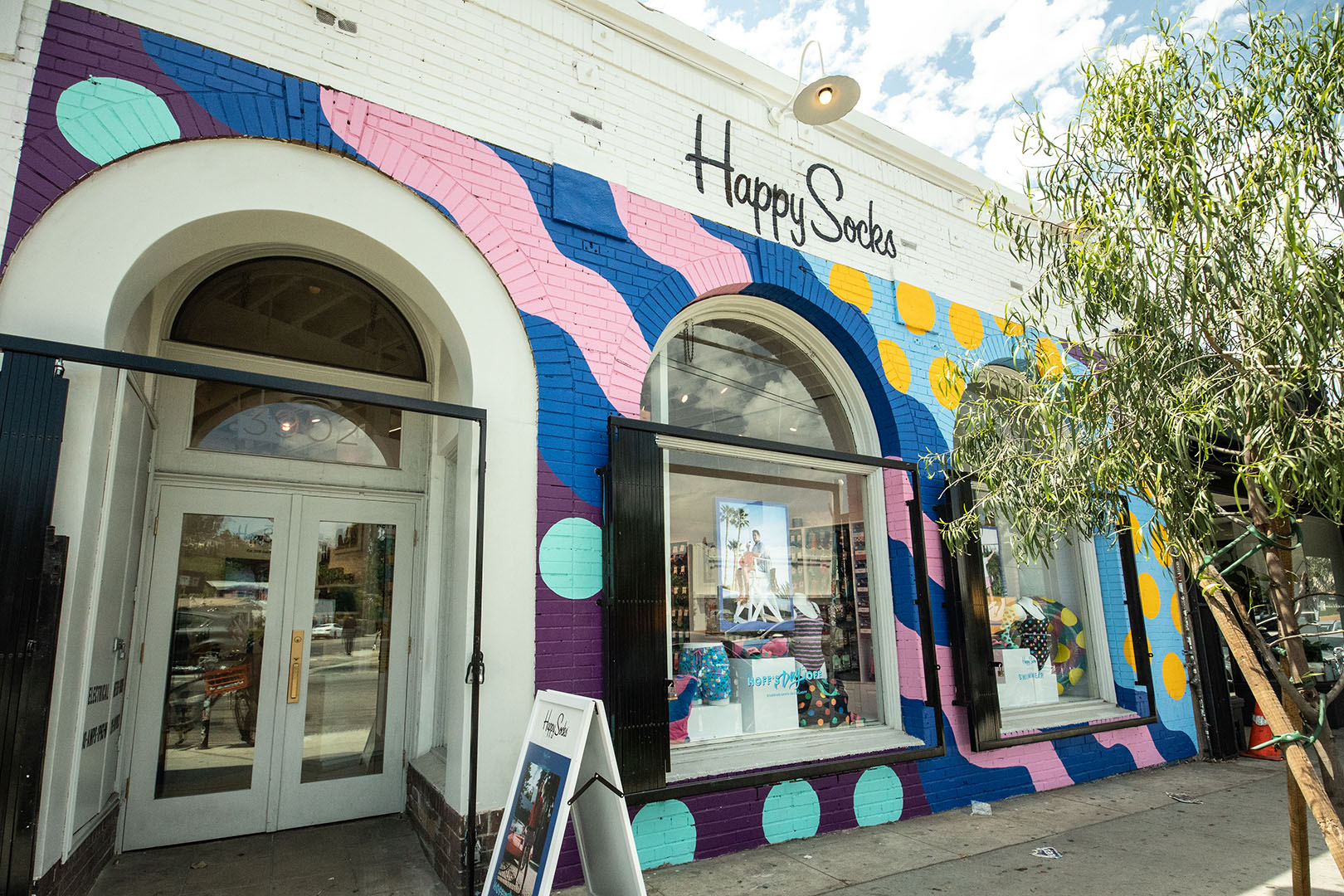 Happy Socks shop exterior