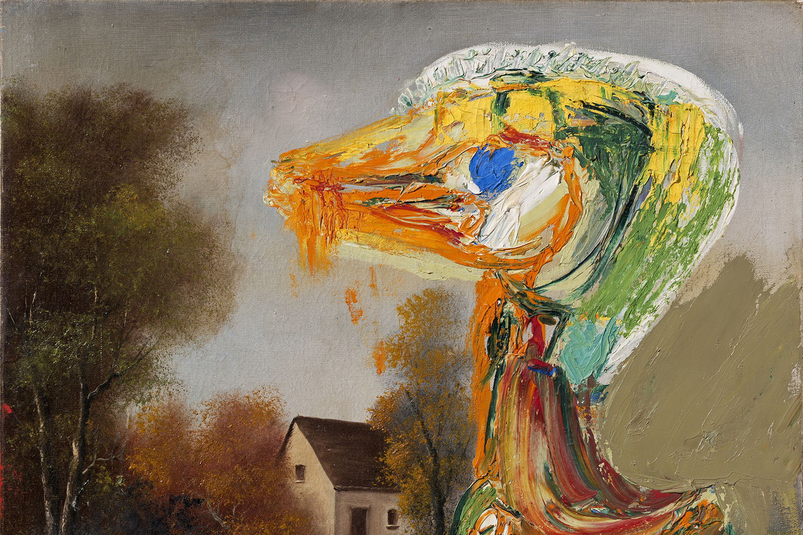 The Disquieting Duckling, Asger Jorn 1959. Photo: Lars Bay