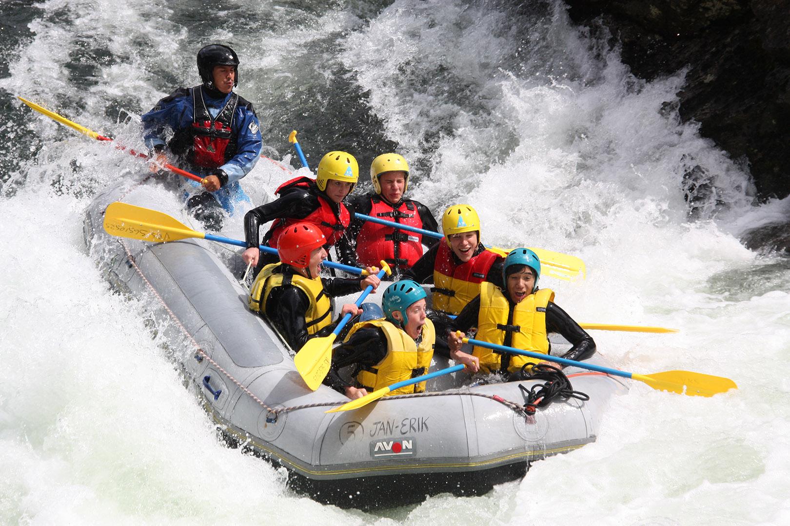 Voss Resort rafting