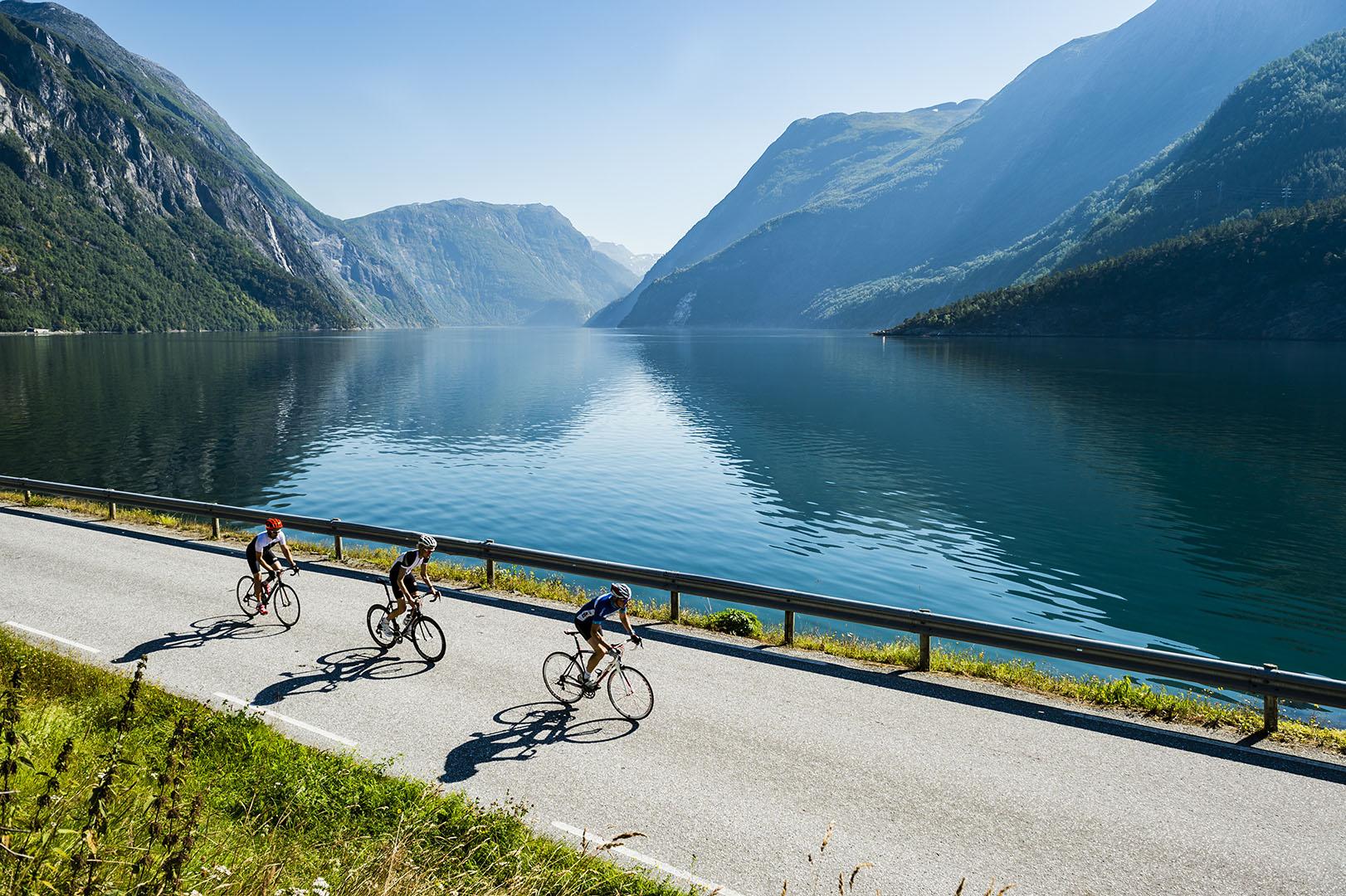 Voss Resort Tafjord fjord biking