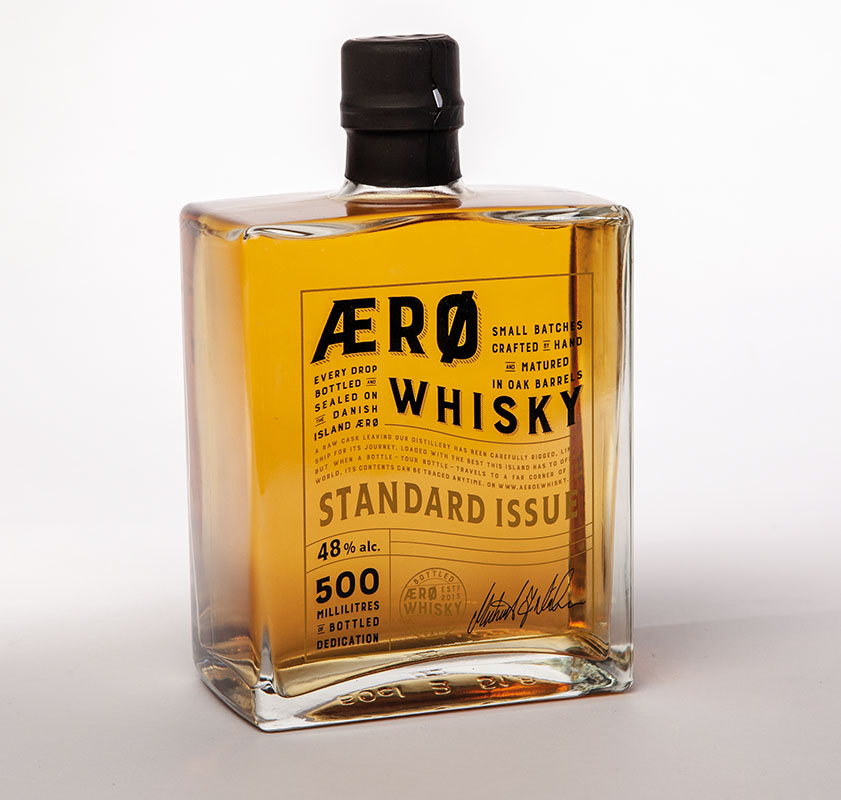 Ærø has everything needed to make a world-class whisky, bottle, Scan Magazine