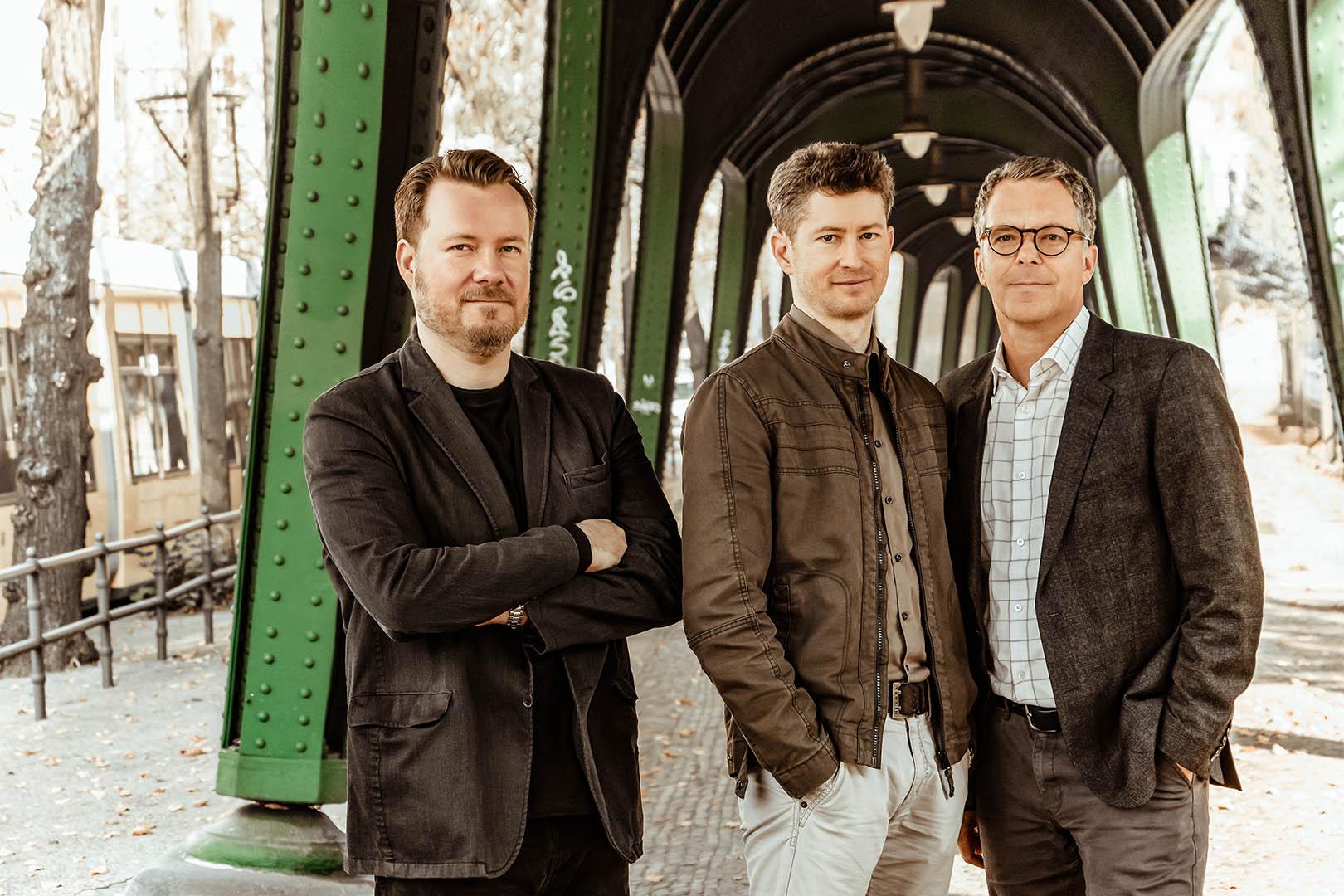 CollectiveCrunch, From left to right: Jarkko Lipponen, Christof Danzl and Rolf Schmitz. Photo: Tilo Riolo