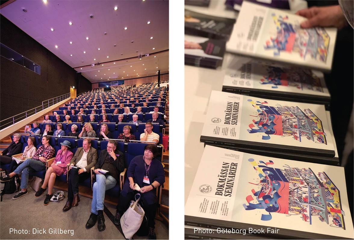Göteborg Book Fair, stories that change the world, Scan Magazine