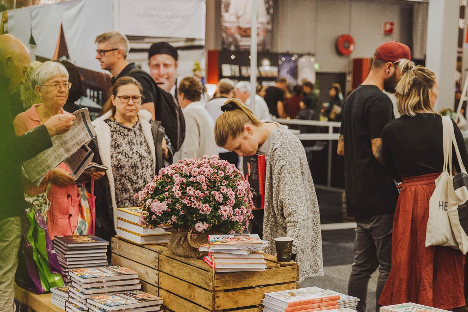 Göteborg Book Fair, stories that change the world, photo by Natalie Greppi