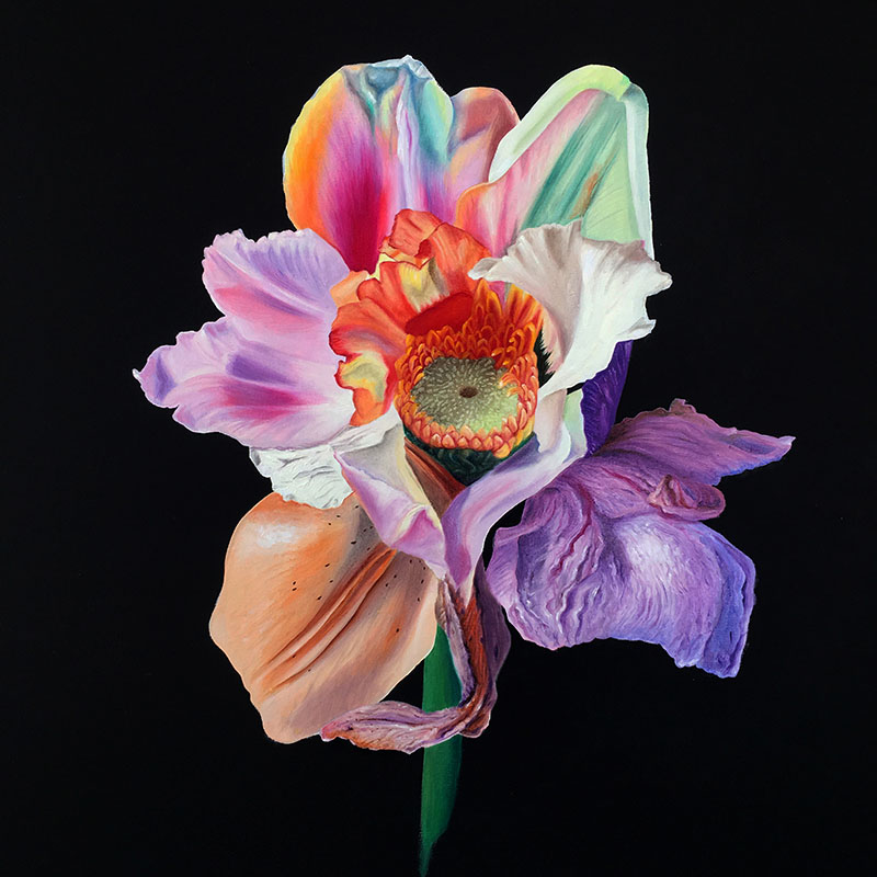 Lilium Asteraceae by Brandy Kraft, photo by Artely, Affordable Art Fair Stockholm, An affordable art revolution