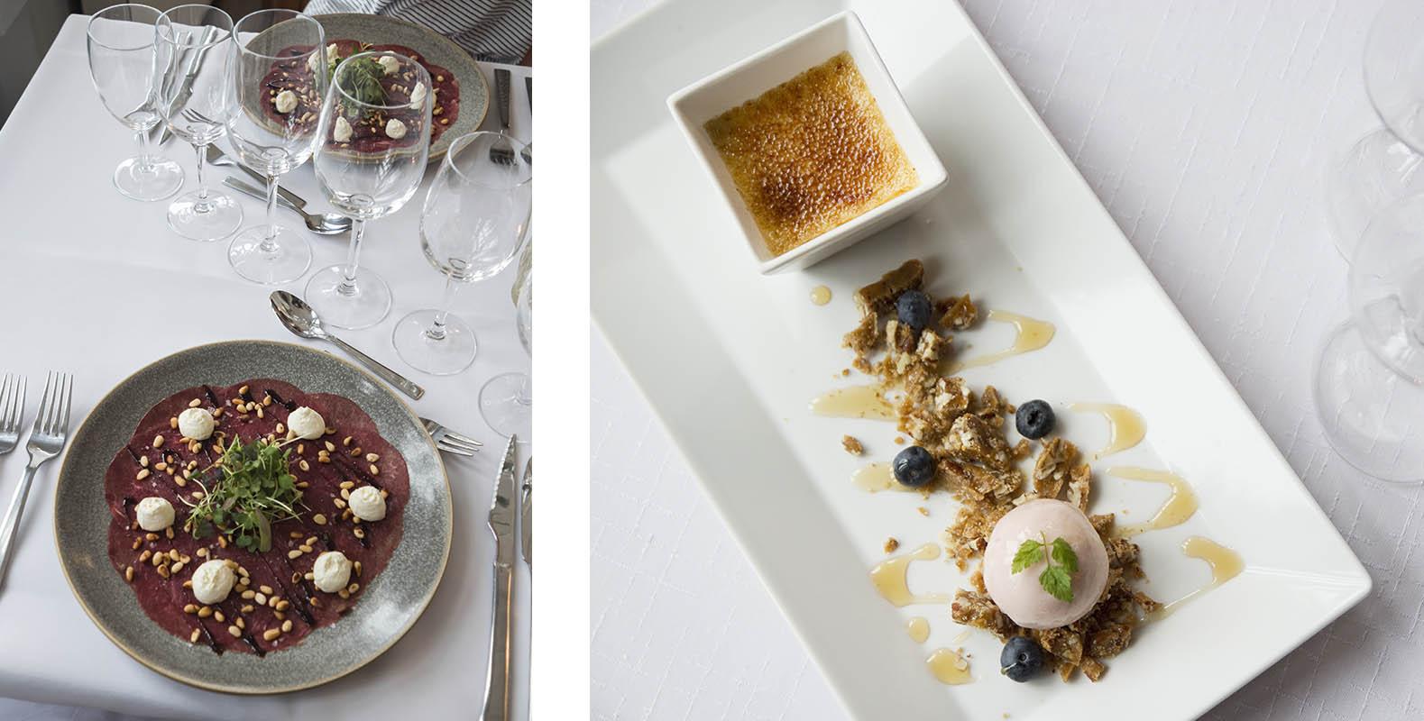 Restaurant Bacchus and Svenska Klubben, Fantastic food in fine, historic settings, dessert