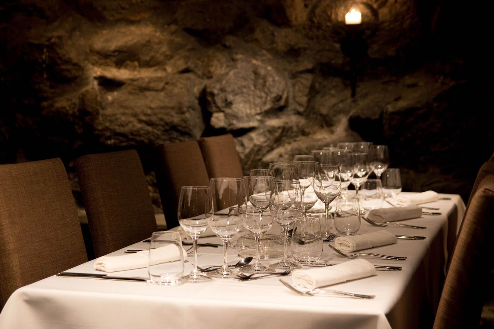 Restaurant Bacchus and Svenska Klubben, the cellar restaurant Bacchus is open in the evenings for à la carte dining