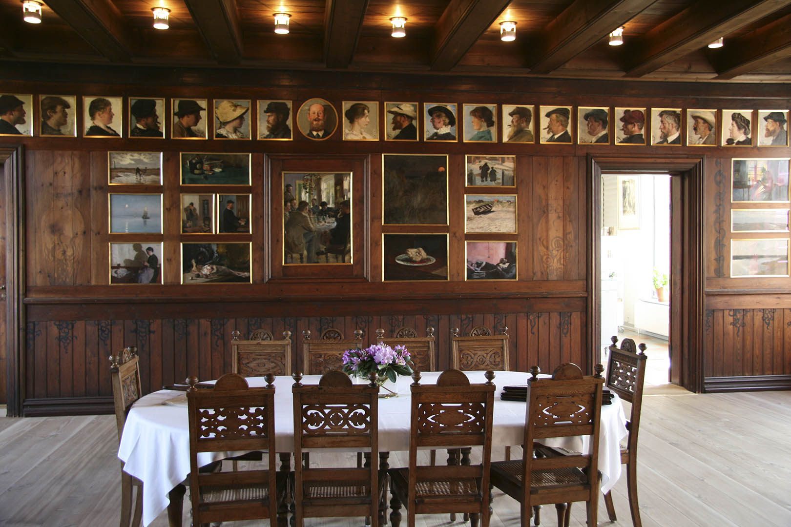 Skagens Museum, Dining Room, Skagen's progressive painters, Scan Magazine, August 2019