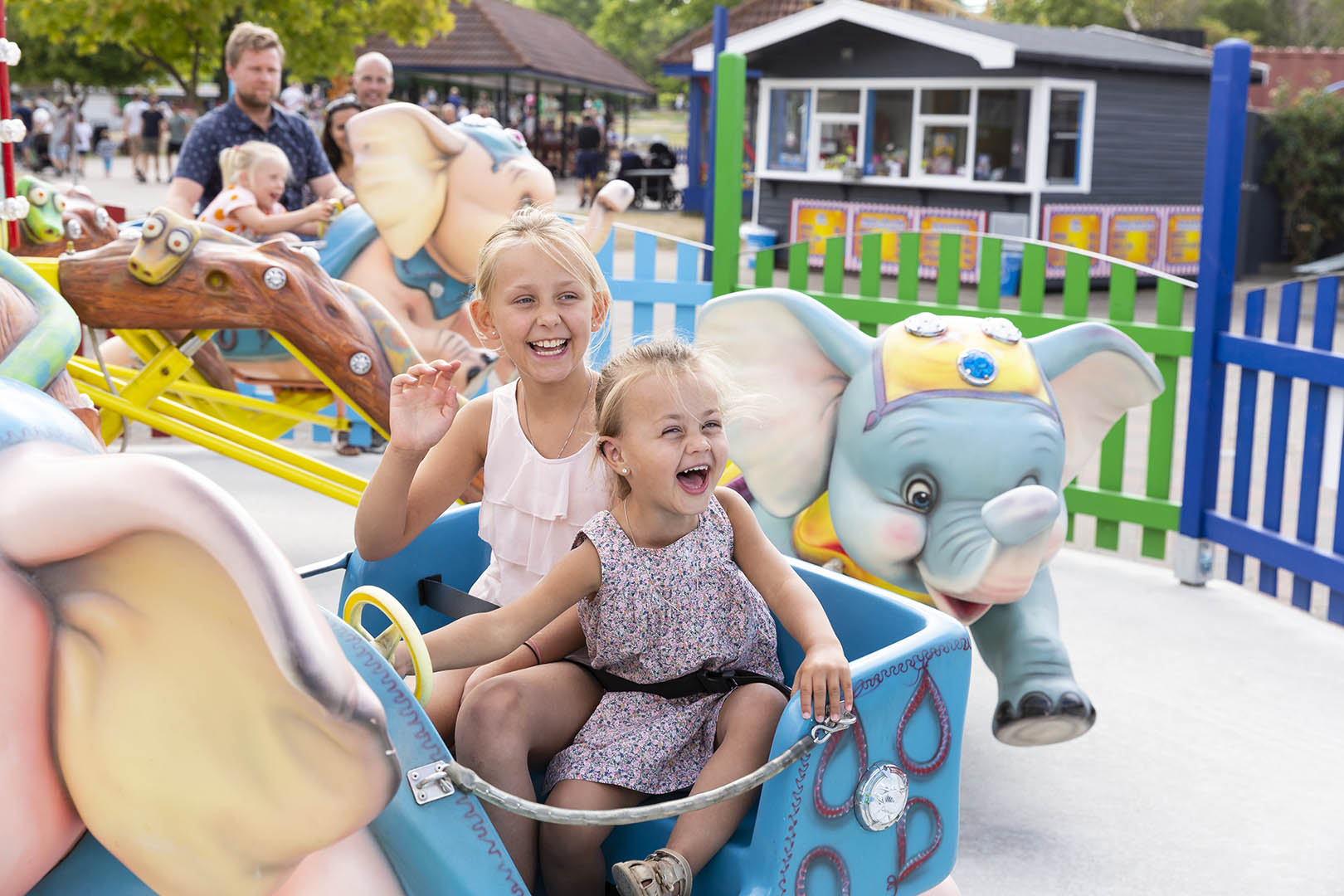 Sommerland Sjælland, Elephant rollercoaster, Summer fun for the family, Scan Magazine