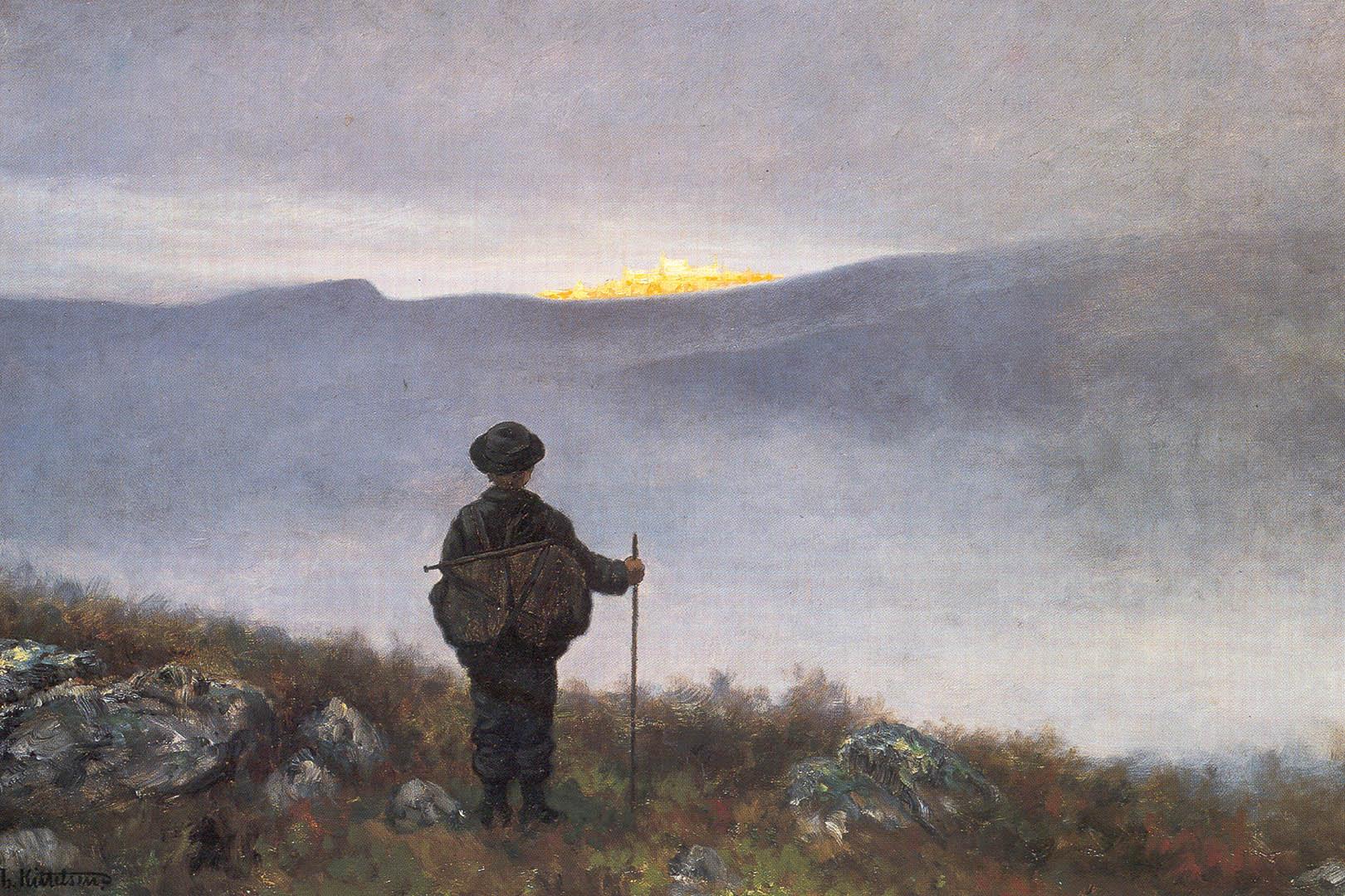 Soria Moria, 1900, Lauvlia, A trip back in time