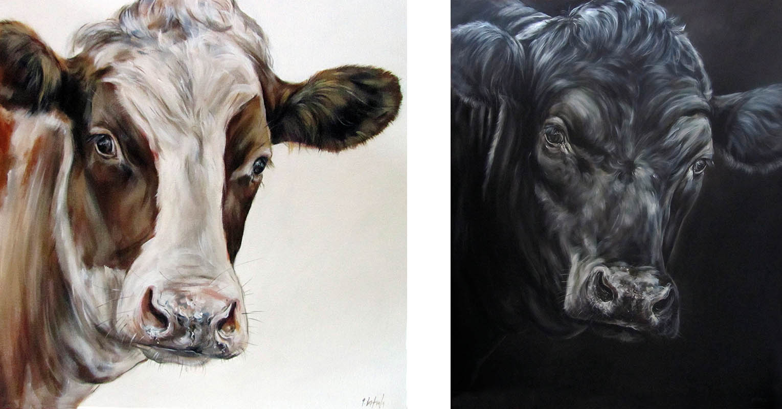 Dreamy (left) and Tupelo Honey (right) by Päivi Latvala, Artist of the Month: Finland, Scan Magazine September 2019