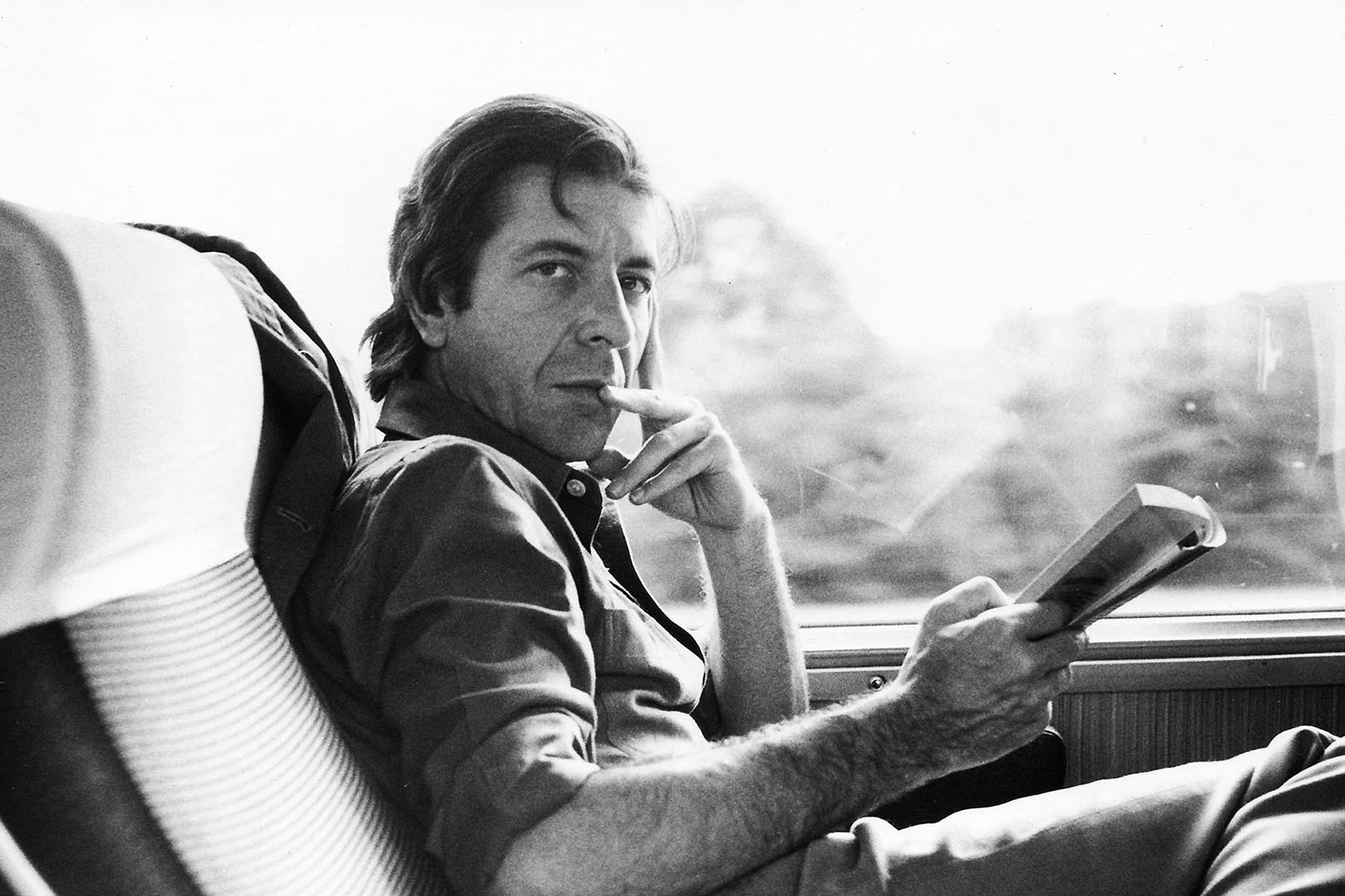 Leonard Cohen. Photo: Old Ideas, LLC. Kunstforeningen GL STRAND and Nikolaj Kunsthal, From Montreal to New York to Copenhagen, Scan Magazine