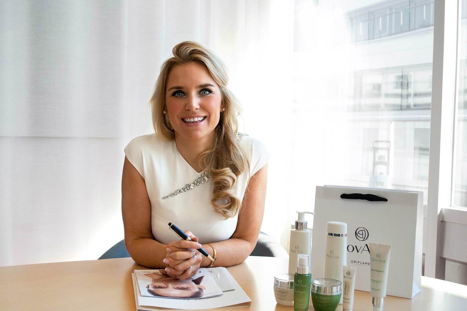 Oriflame Cosmetics: From lab to bottle — passion for beauty and science, Scan Magazine
