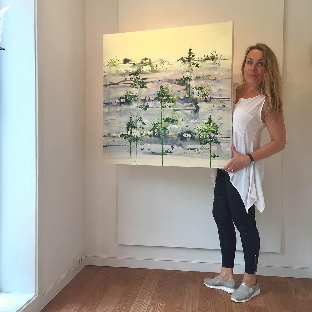 Randi Antonsen: Positive art with mysterious, curious undertones, Scan Magazine