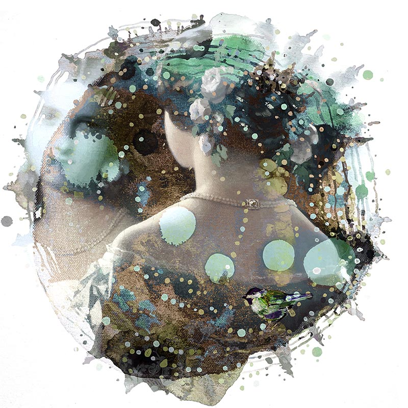 Mirror. Randi Antonsen: Positive art with mysterious, curious undertones, Scan Magazine