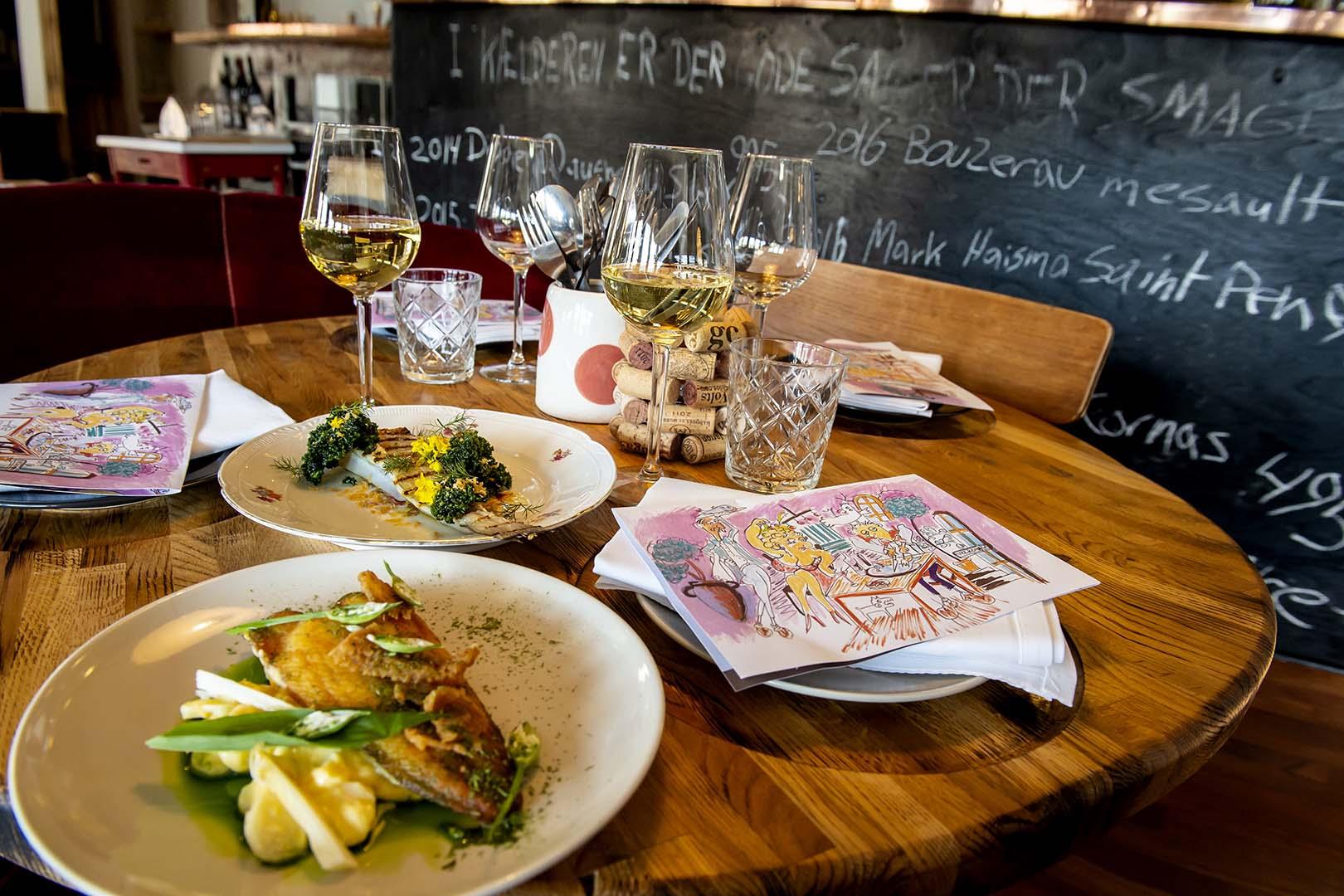 Restaurant Essens, Feel-good food in cosy surroundings, Scan Magazine