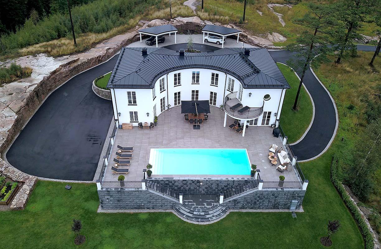 Villa Victoria, Limited edition, roughly 700 square metres, Sweden. Photo: Emil Jönsson, Ross Architecture & Design: Built to last, Scan Magazine
