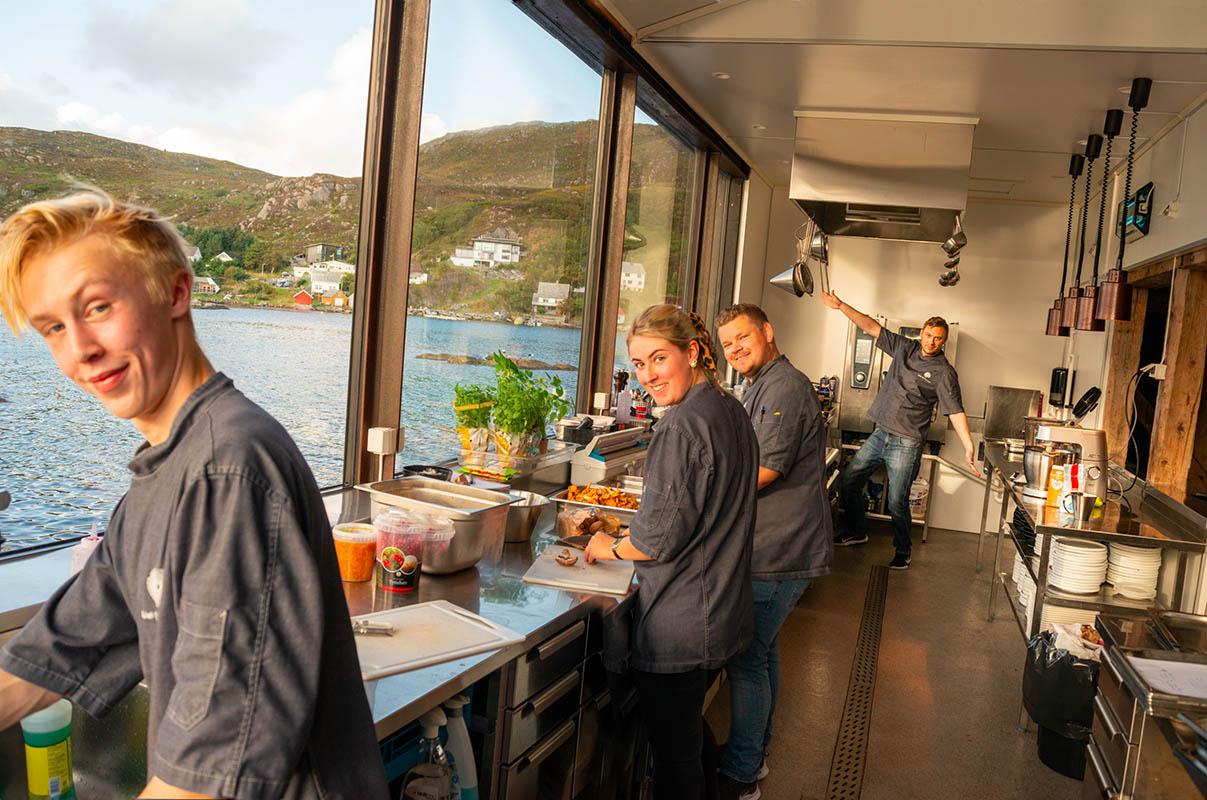 Kami Skotholmen: Norwegian seafood surrounded by Norwegian nature, Scan Magazine