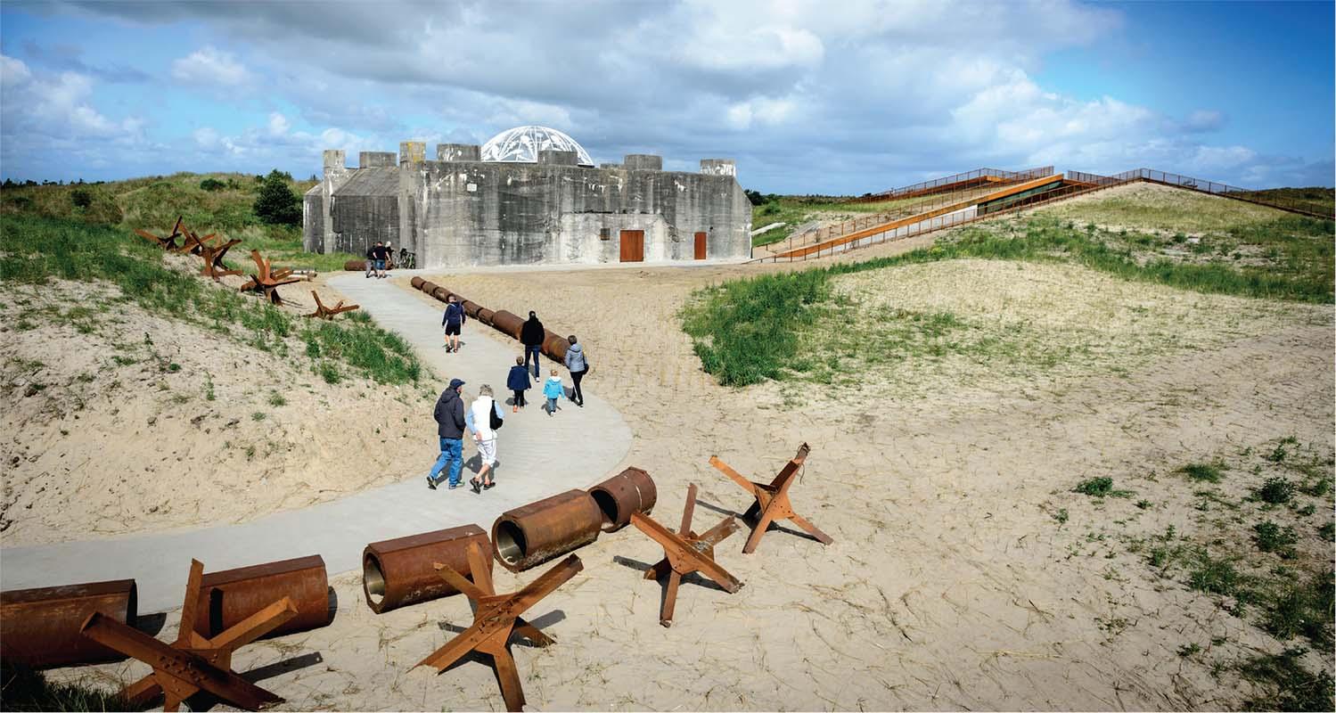 Tirpitz: Beneath the dunes of time, Scan Magazine