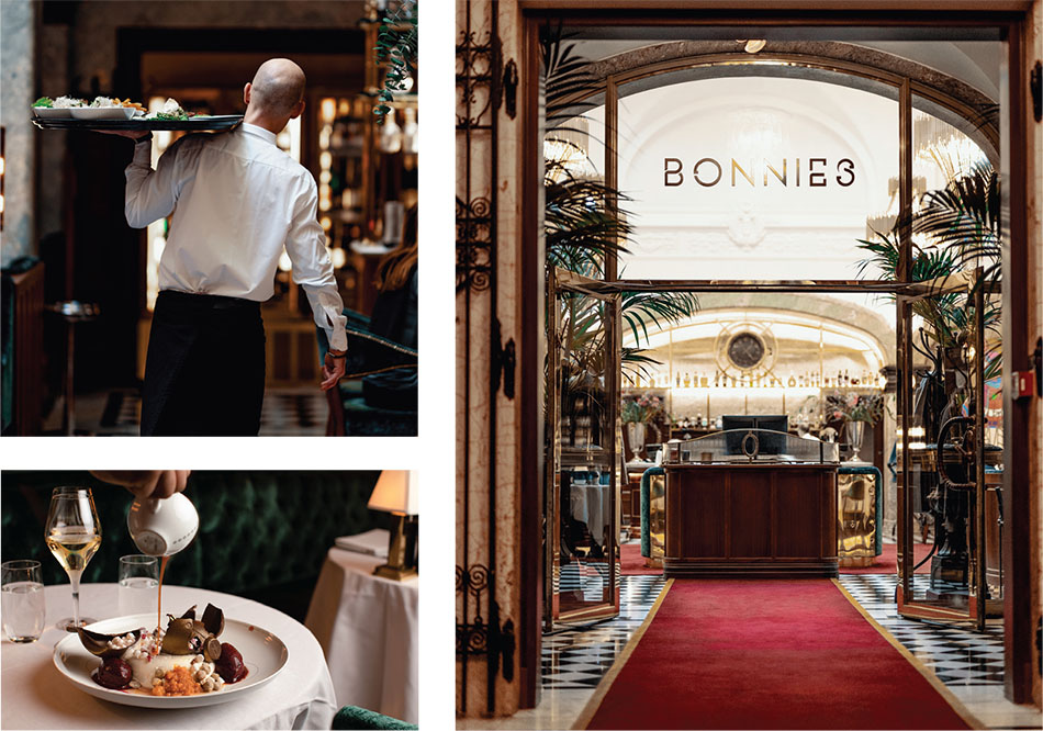 Bonnie's: Chic gastronomy in the bank hall