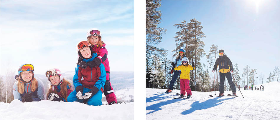 Kungsberget:  Fun, close and hassle-free– skiing made easy for families and conference goers alike
