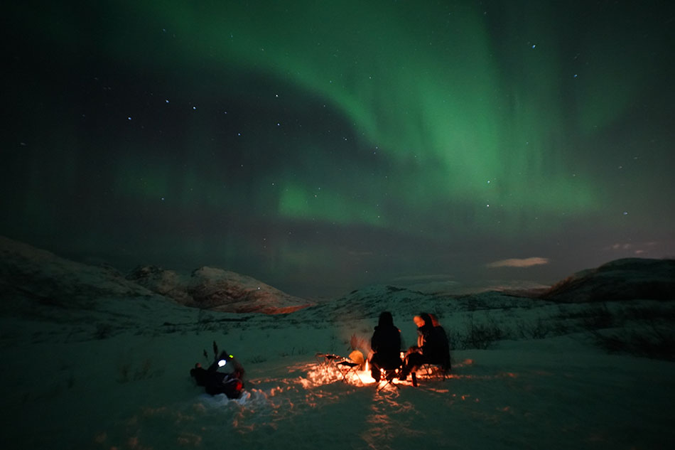 Amazing Arctic Tours | It's looking up! | Scan Magazine