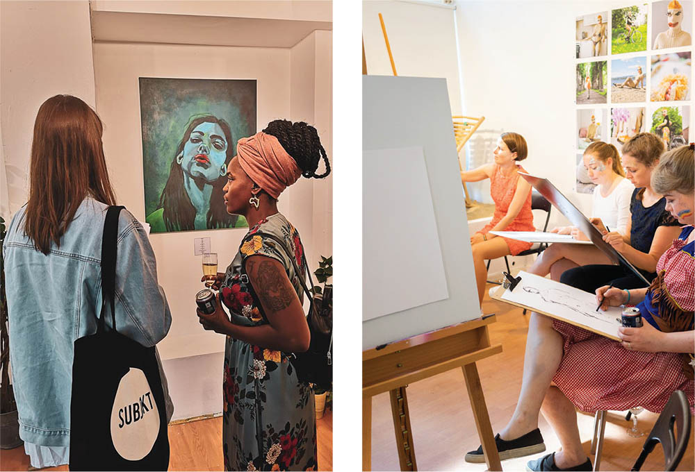 Galleri Kladden: A quirky gallery bringing art to the people