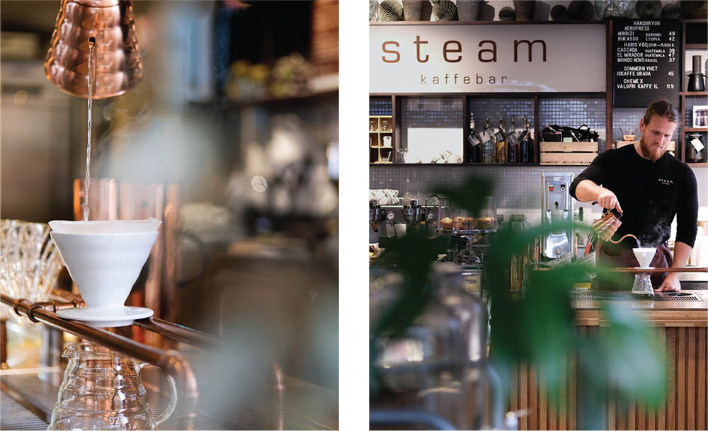 Steam Kaffebar: An exciting and luxurious coffee experience