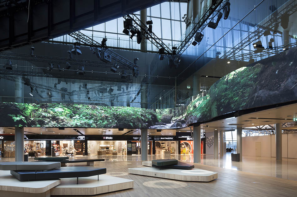 Rune & Berg won a competition together with Architects Davidsson Tarkela with their concept design of Finavia Aukio at Helsinki-Vantaa Airport.