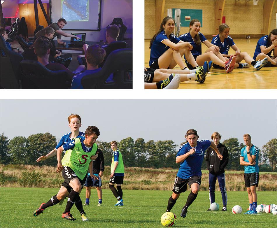 Nordjyllands idrætsefterskole Stidsholt   Healthy students in every way